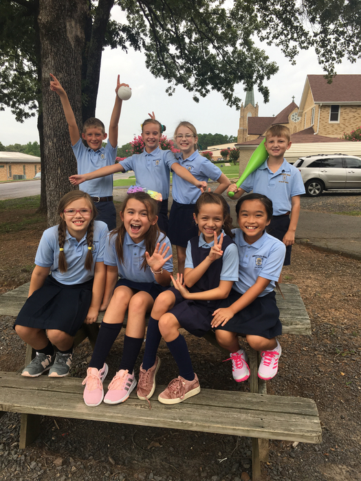4th grade had a great first day!