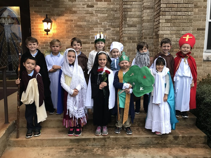 1st Grade All Saints Day
