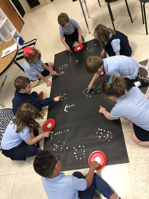 Kindergarten had so much fun learning all about space!