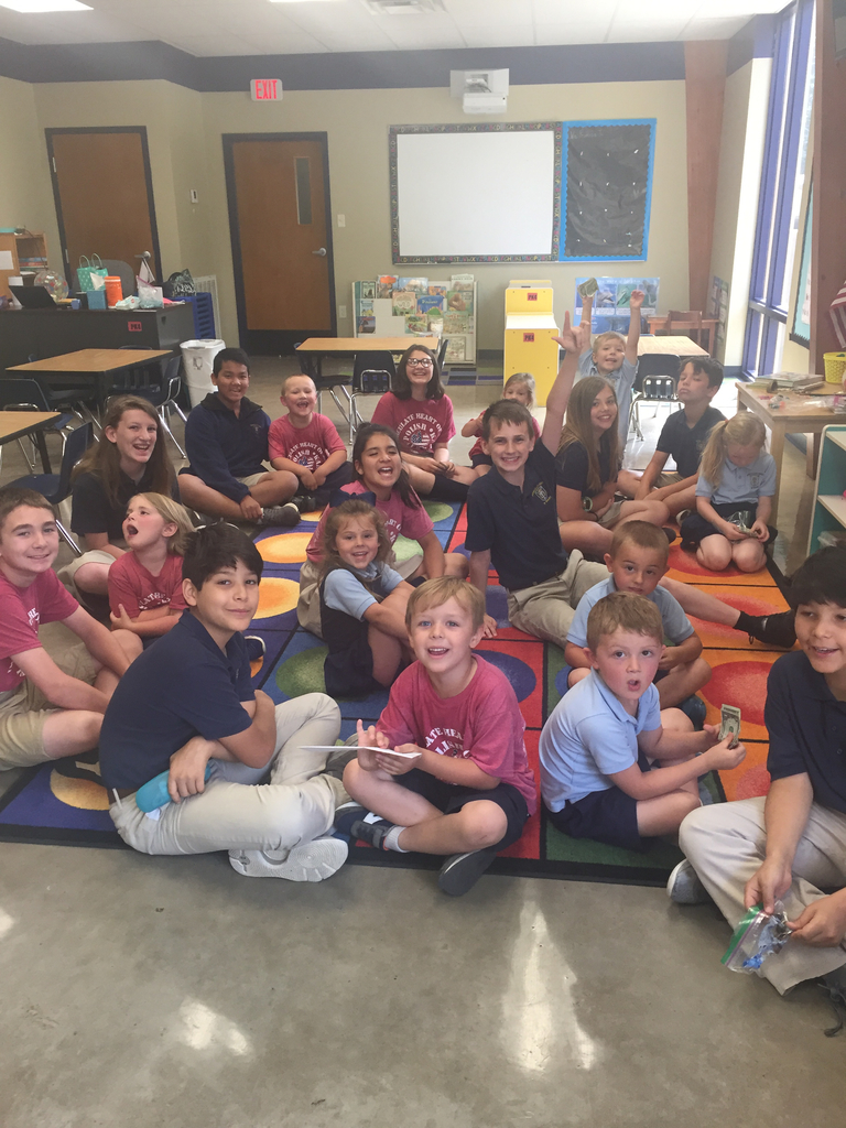 PK4 and 6th grade enjoyed a last time together, for the year!