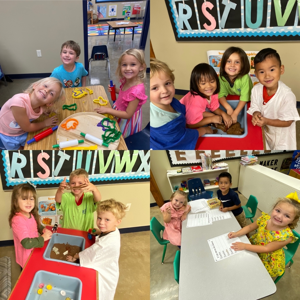 Centers this week were so much fun in PK4!