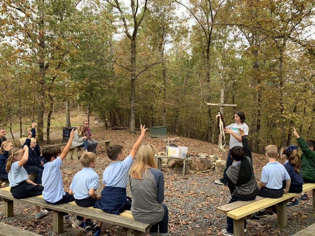 3rd grade fun on our Field Trip to Ferncliff!