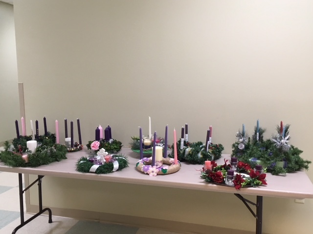 Advent Wreath Display