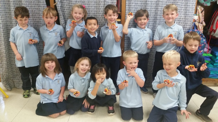 Kindergarten loved making turkey cookies with 1st grade. Have a wonderful Thanksgiving!
