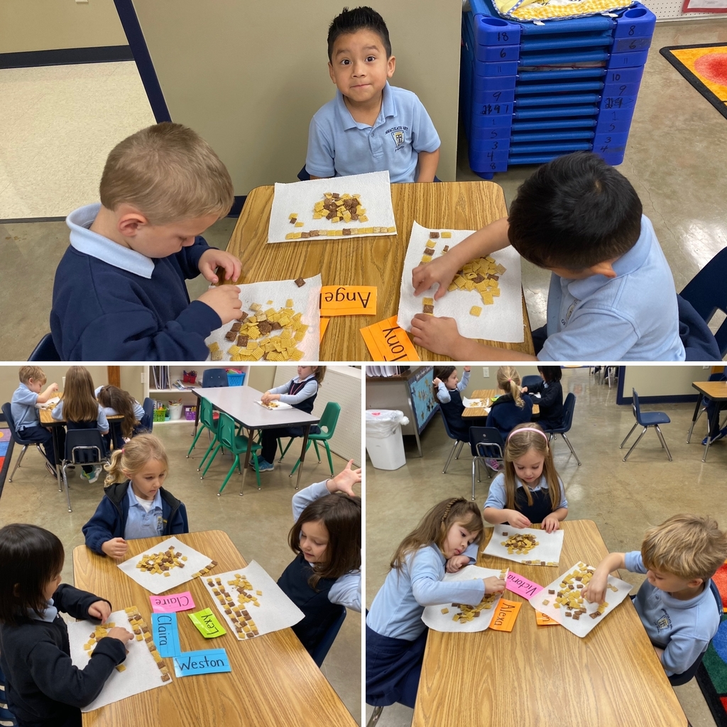 PK4 had so much fun making Quilts out of Chex Mix this week for letter Q!