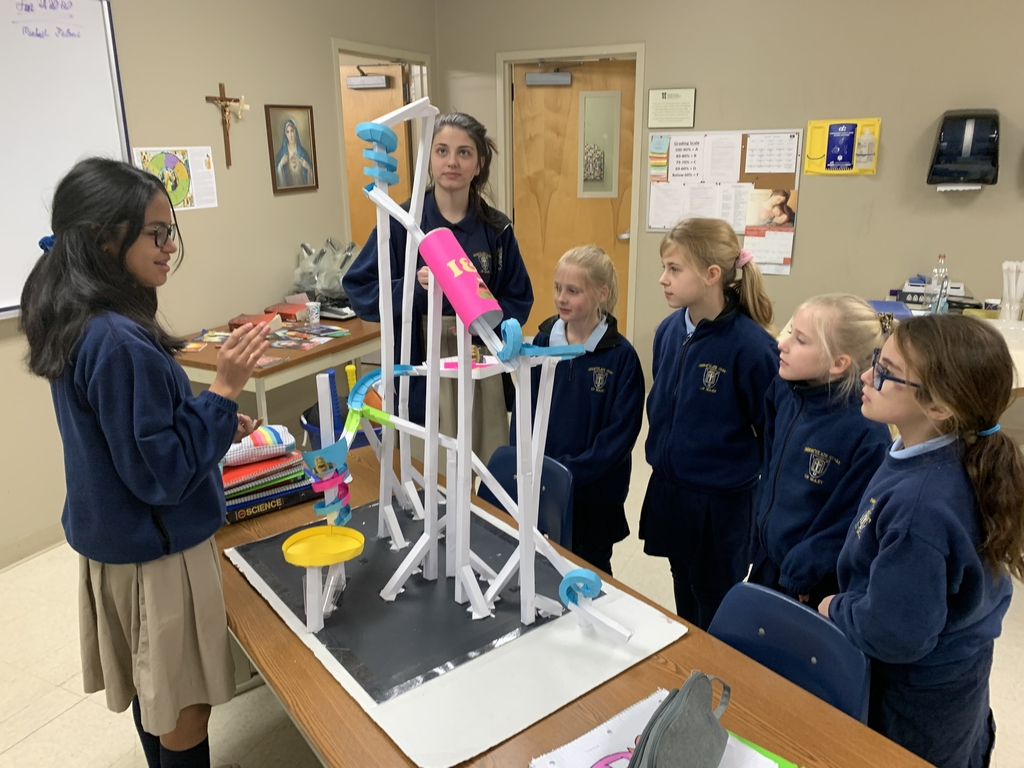 Grade 3 got to check out 8th grade's rollercoasters!