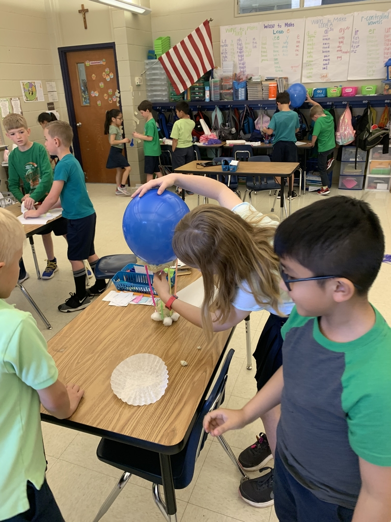 Egg drop stem challenge!