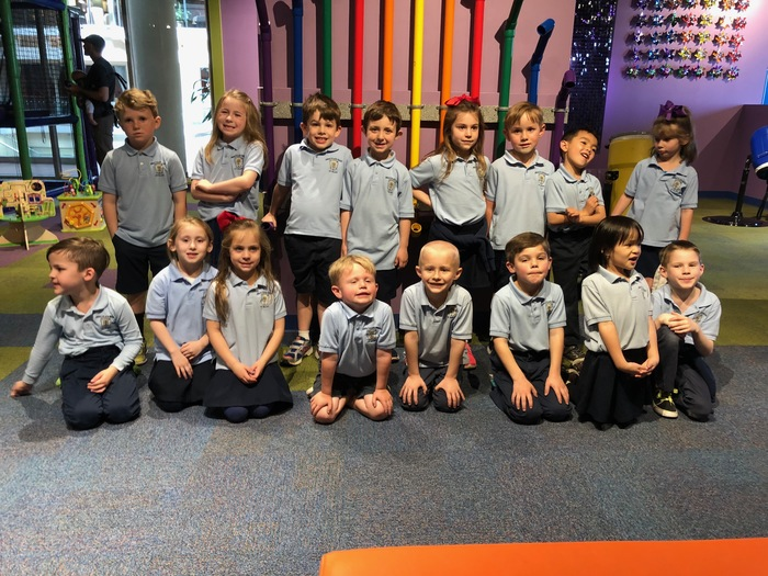 Kindergarten enjoyed exploring the Museum of Discovery!